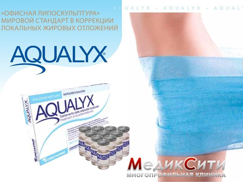 Интралипотерапия (технология Aqualyx)