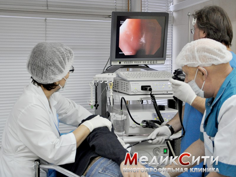 Гастроскопия в институте гастроэнтерологии
