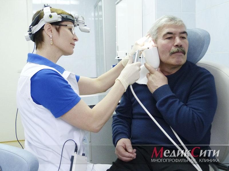 Промывание слуховых каналов