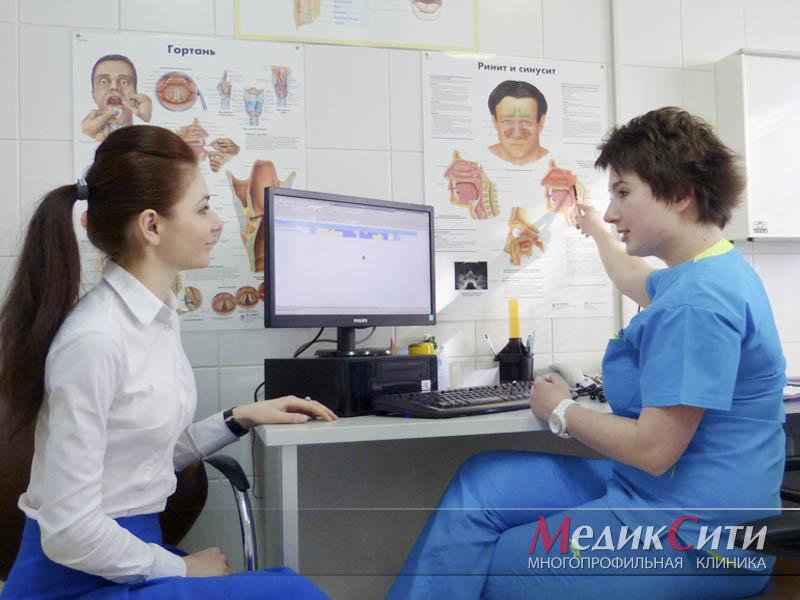 Диагностика носовых кровотечений в МедикСити