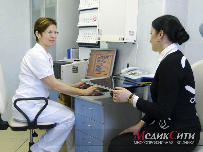 Диагностика искривления перегородки носа в МедикСити