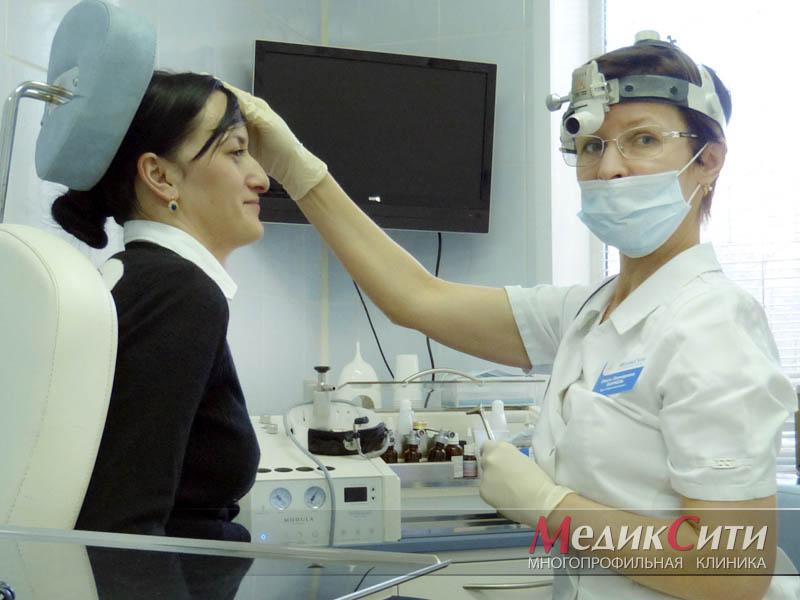 Промывание носа и носоглотки