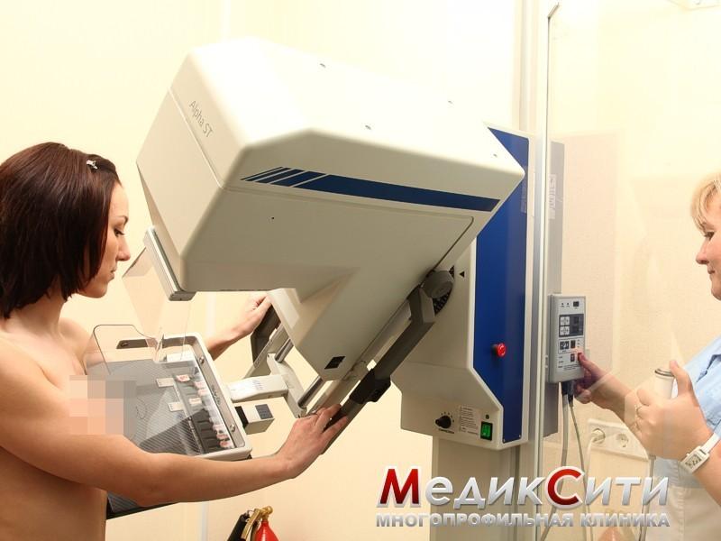 сделать маммографию в нахабино или красногорске груди