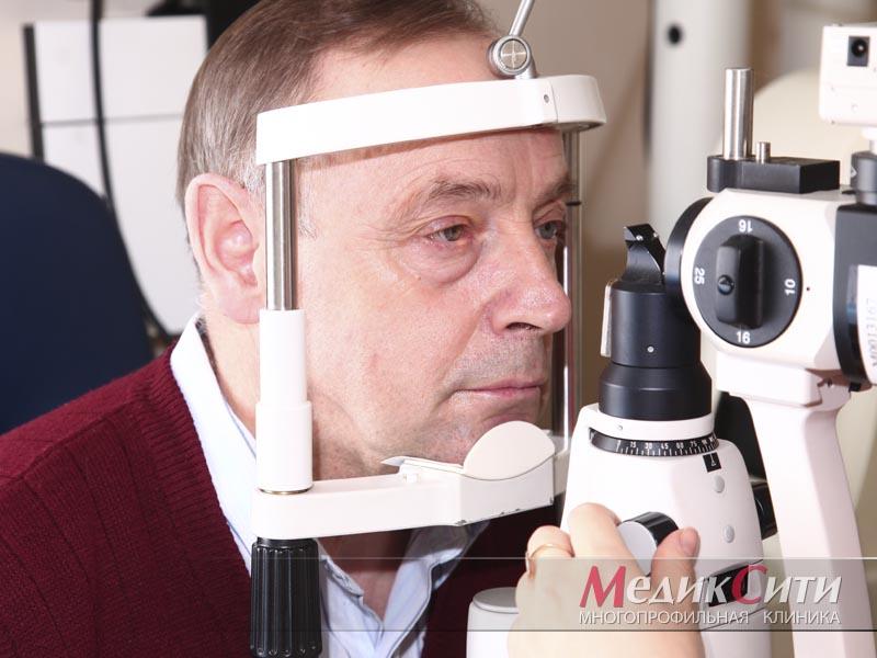 Диагностика зрения в клинике «МедикСити»