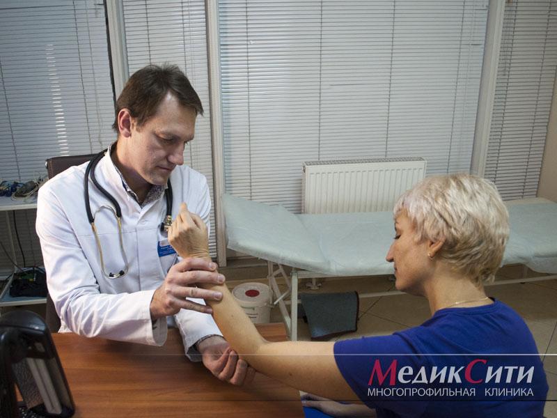 Диагностика артроза суставов