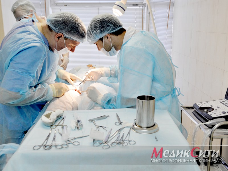 Сосудистая хирургия в МедикСити